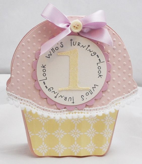 first birthday- cupcake party