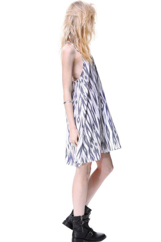 Loose and Easy Mini Dress