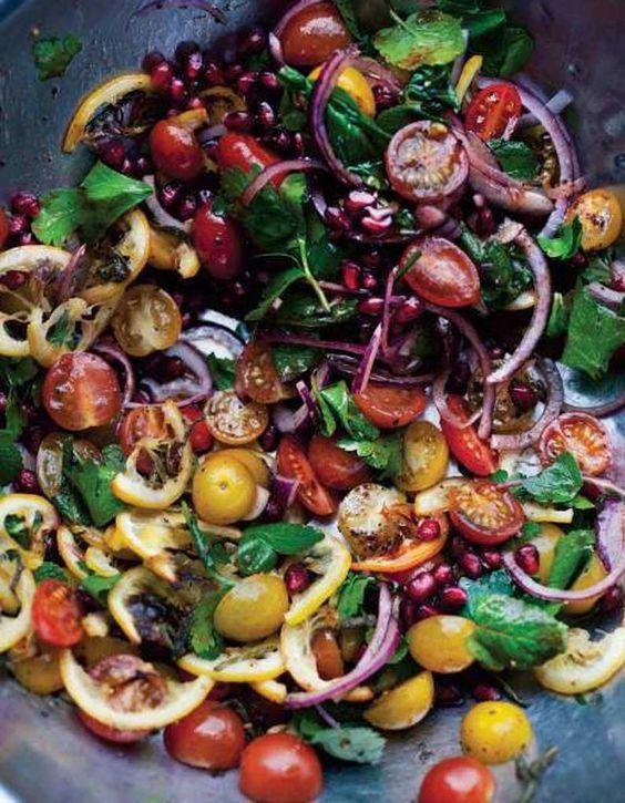 Salade healthy : Salade arc-en-ciel - 11 salades légères et colorées pour être en forme tout l'été - Elle à Table
