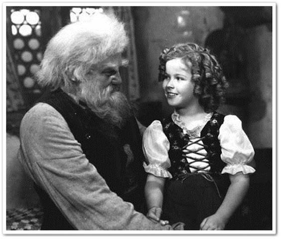 Jean Hersholt and Shirley Temple in Heidi (1937)