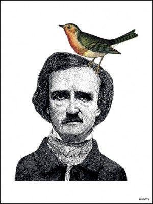 Poster+VANILLA+FLY+-+Man+With+Bird
