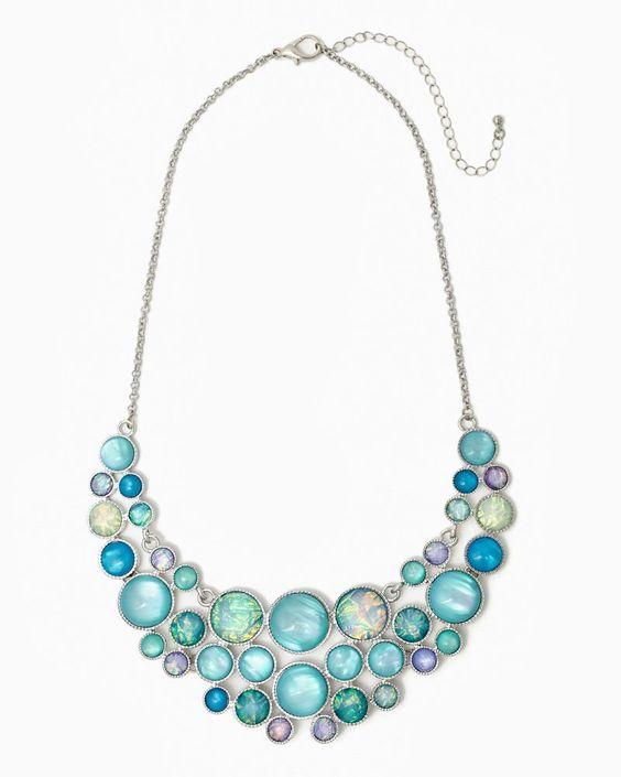 charming charlie | Honorary Iridescence Necklace | UPC: 410006667044 #charmingcharlie