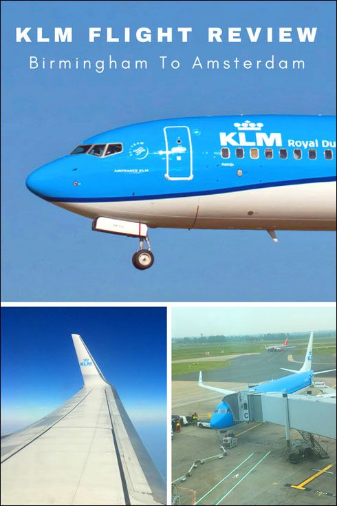 Klm Flight Review Birmingham To Amsterdam Airport Schiphol In