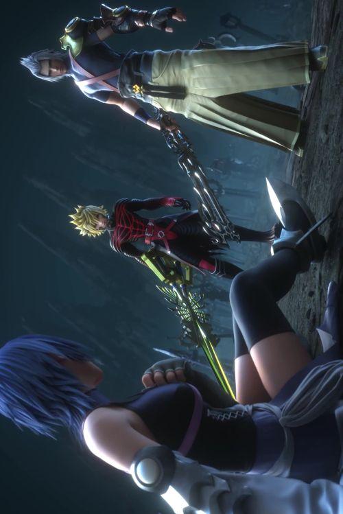 Kingdom Hearts Aqua Ventus Terra Jeux Jeux Video