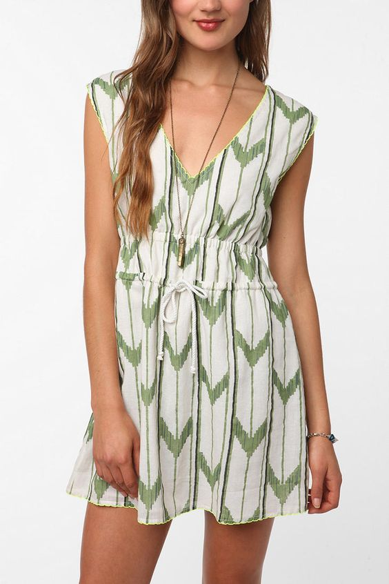 I would love to wear this!  Surf Electric By Bethany Mayer Ikat Dress