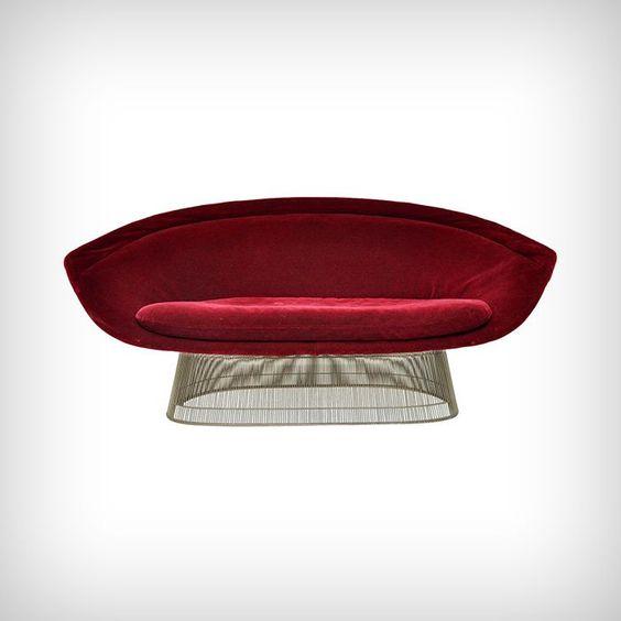 Sofa by Warren Platner