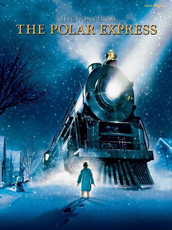 Descarga Gratis En Pdf El Songbook De Selections From The Polar Express Para Piano Banda Sonora De A El Expreso Polar Películas De Navidad Poster De Peliculas