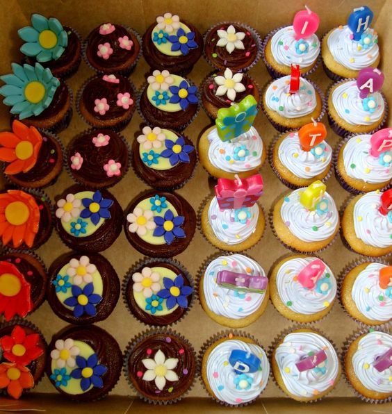 Lovely cupcakes. And delicious too!