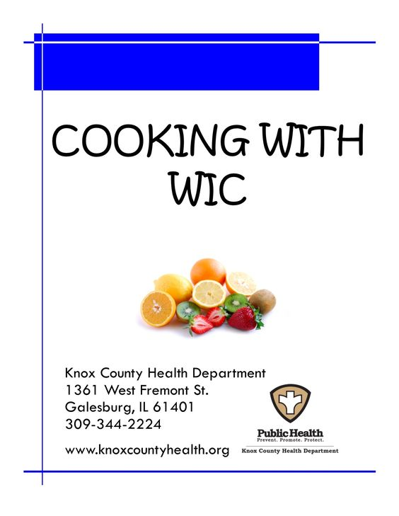 Get recipe ideas for cooking with WIC foods!: