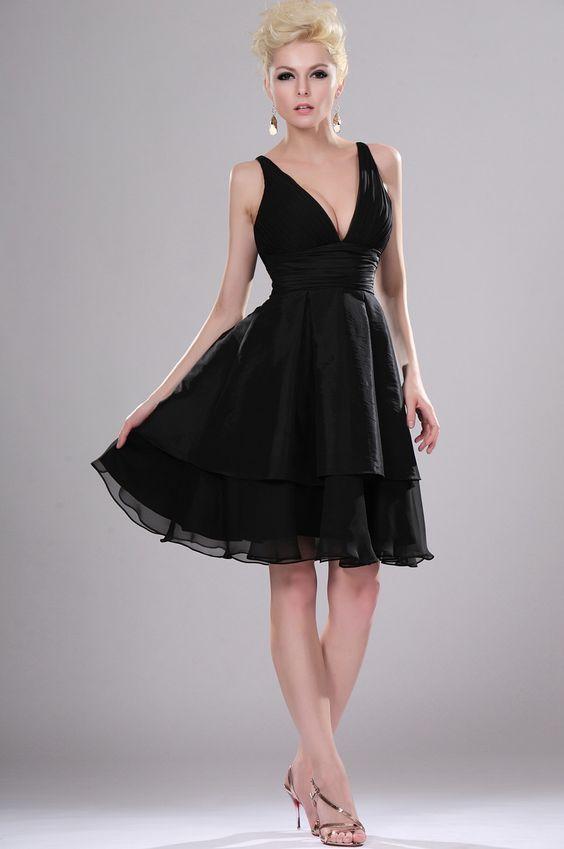 black-coctail-dress  Black Party Dress  Pinterest  Cocktails A ...