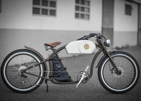 OtoR Cycle in Brown + White | Oto