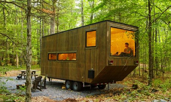 Tiny Cabins by Harvard startup Getaway