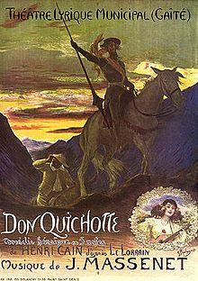 Version de Don Quichotte par Jules Massenet — Wikipédia
