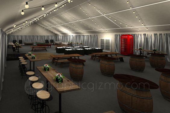 Event Lounge 3D Concept Model