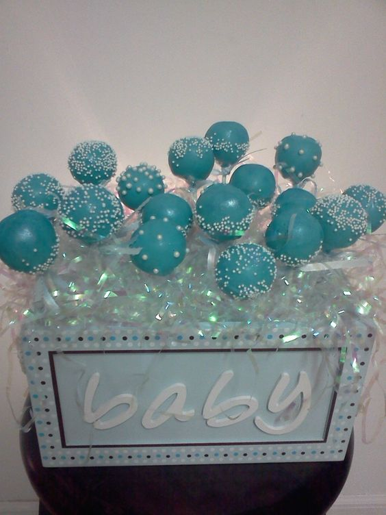 Decorating Cake Pops Uk : Baby shower cake pops Things that I like