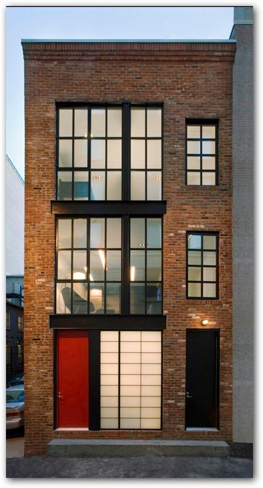 departamentos pequeños fachada - Buscar con Google