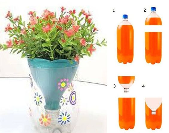 2liter bottle craft from a 2 liter bottle make a for Craft items made from plastic bottles
