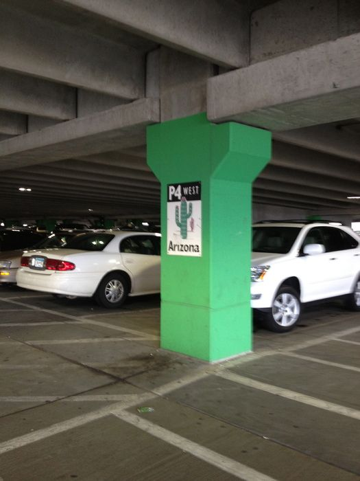 Tip:  Snap a photo of where you parked at the mall on your phone to serve as a reminder in case you forget.
