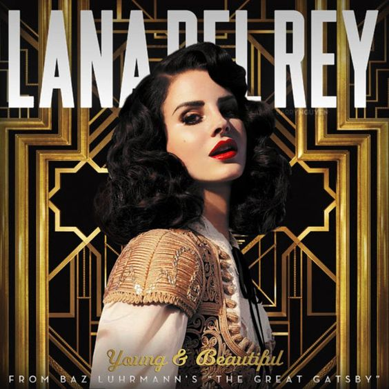 Lana Del Rey – Young and Beautiful (single cover art)