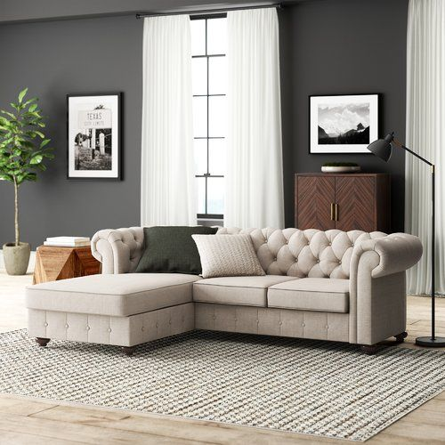 Quitaque Chesterfield Sofa Reviews Joss Main Wayfair Living Room Furniture Living Room Table Sets