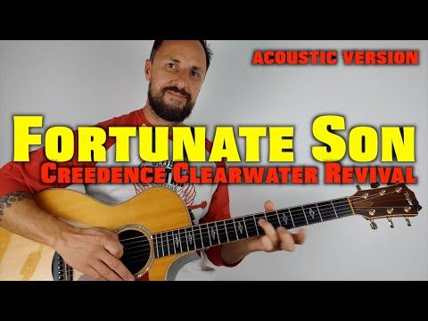 Creedence Clearwater Revival Fortunate Son Lesson Youtube Fortunate Son Lesson Beginner Lesson