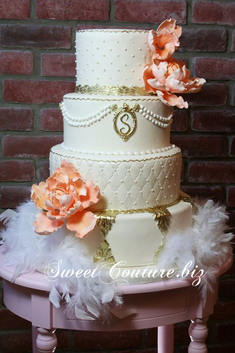 Mariage, Wedding cakes and Cakes on Pinterest