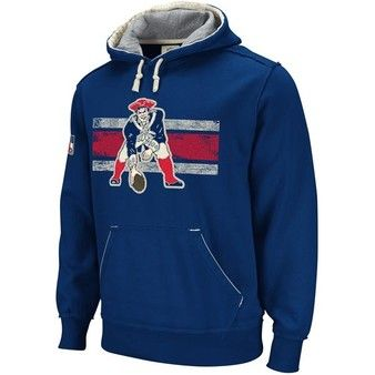 Throwback Vintage Pullover Hoodie Patriots Style For