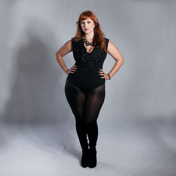 Body Luxo Preto - Plus Size - Kiss Flower #PlusSize