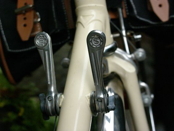 Simplex Downtube Shifters c. 1970's