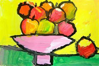 Artsonia Art Gallery - Cezanne's Apples