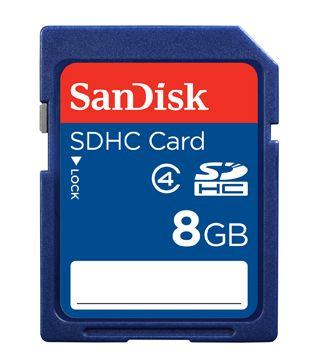 Sandisk Standard SDHC, 8GB