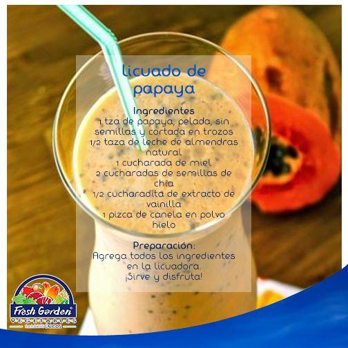 #CocinaFG Un licuado para tu intestino y aplanar el vientre, tan recomendable como #saludable