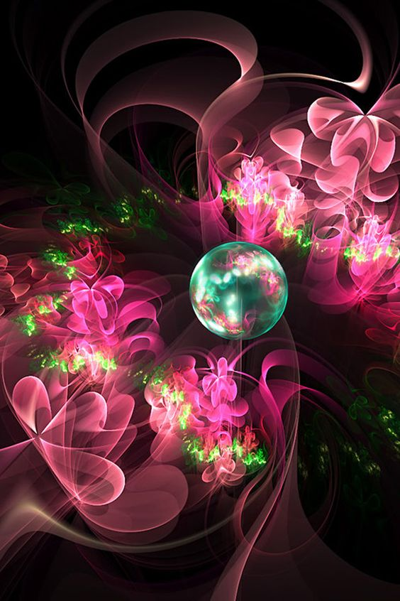 *Two Hearts Falling in Love*                                              <><Fractal Art><>