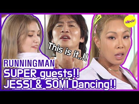 Hot Clips Runningman Queens Are Back Again Jessi Somi Eng Sub Youtube Somi Philippine News Running Man