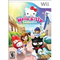 New Zoo Games Hello Kitty Seasons Kids Vg Wii Platform Excellent Performance Most Popular