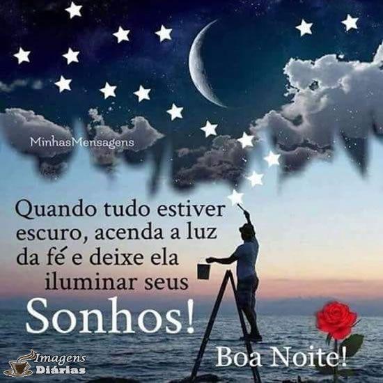 Boa Noite Imagem Para Compartilhar No Whatsapp Facebook