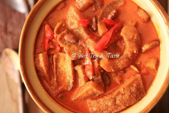 Resep Sambal Goreng Krecek Dengan Kacang Merah Dan Tahu Makanan Resep Makanan Resep