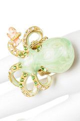Baby Octopus Fashion Ring