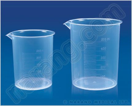 Plastic Beaker - Buy Plastic Beaker, Plastic Graduated Beaker, Laboratoty Plastic Beaker, Plastic Beakers online at surgicalshop.com NET brand beakers are moulded from High Grade chemical resistant Polypropylene