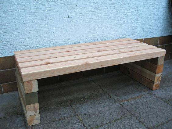 Gartenbank selber bauen - Seite 1 - Gartenpraxis - Mein schöner - relaxliege holz bauanleitung