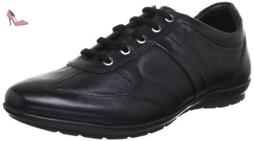 U Box A, Sneakers Basses Homme, Noir (Black), 41 EUGeox