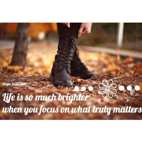 """""""~ Make your life brighter ~ What matters most to you? ❤️ -Sydney"""""""