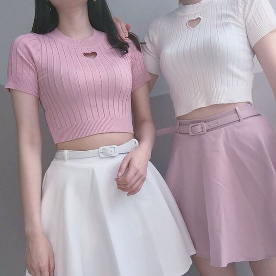 Pastels, pink and cute !
