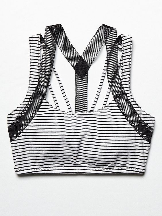 Free People Stripe Bra at Free People Clothing Boutique