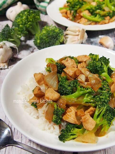 Resep Tumis Cah Ayam Brokoli Brokoli Makan Malam Resep Masakan