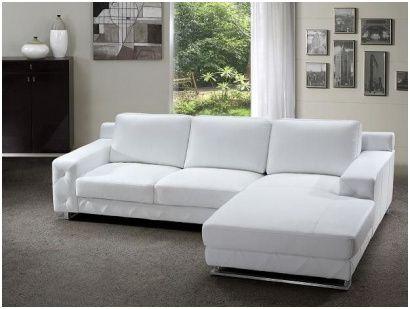 Majestatisch Kleine Ledercouch Modern Sofa Sectional White Leather Sofas Modern Leather Sectional Sofas