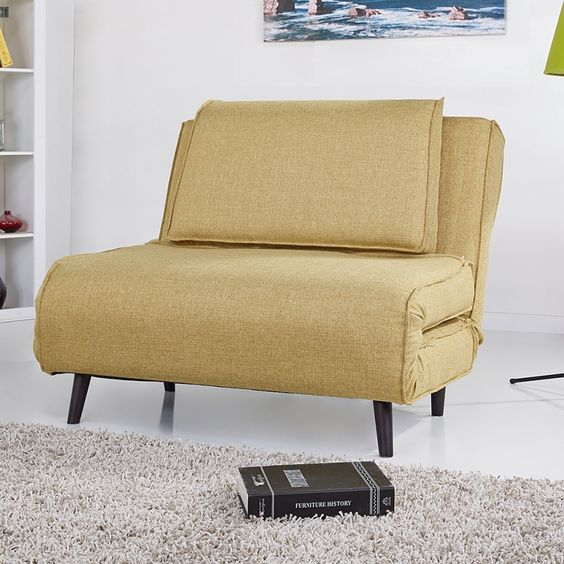 Schlafsessel ausziehbar  Schlafsessel Rovigo - Webstoff Grün 280, 5 wochen 102 cm, 51 cm ...