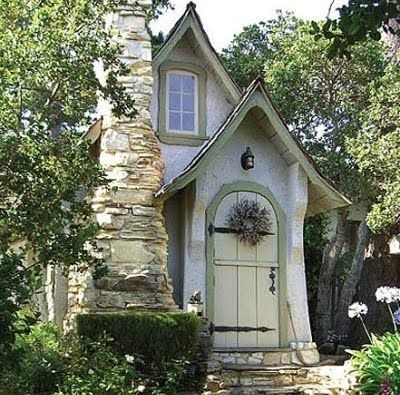 """""""Hansel"""", one of the 20 plus fairy-tale homes of Carmel, CA, that were built in the 1920's by Hugh Comstock."""