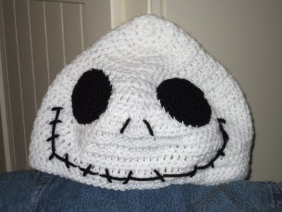 Jack Skellington Hat Knitting Pattern : jack skellington knit hat pattern Multibeavos World: October 2008 CR...