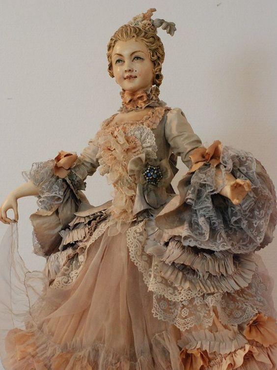 Мастер художественной куклы Юлия Сочилина и её романтические красавицы - Ярмарка Мастеров - ручная работа, handmade